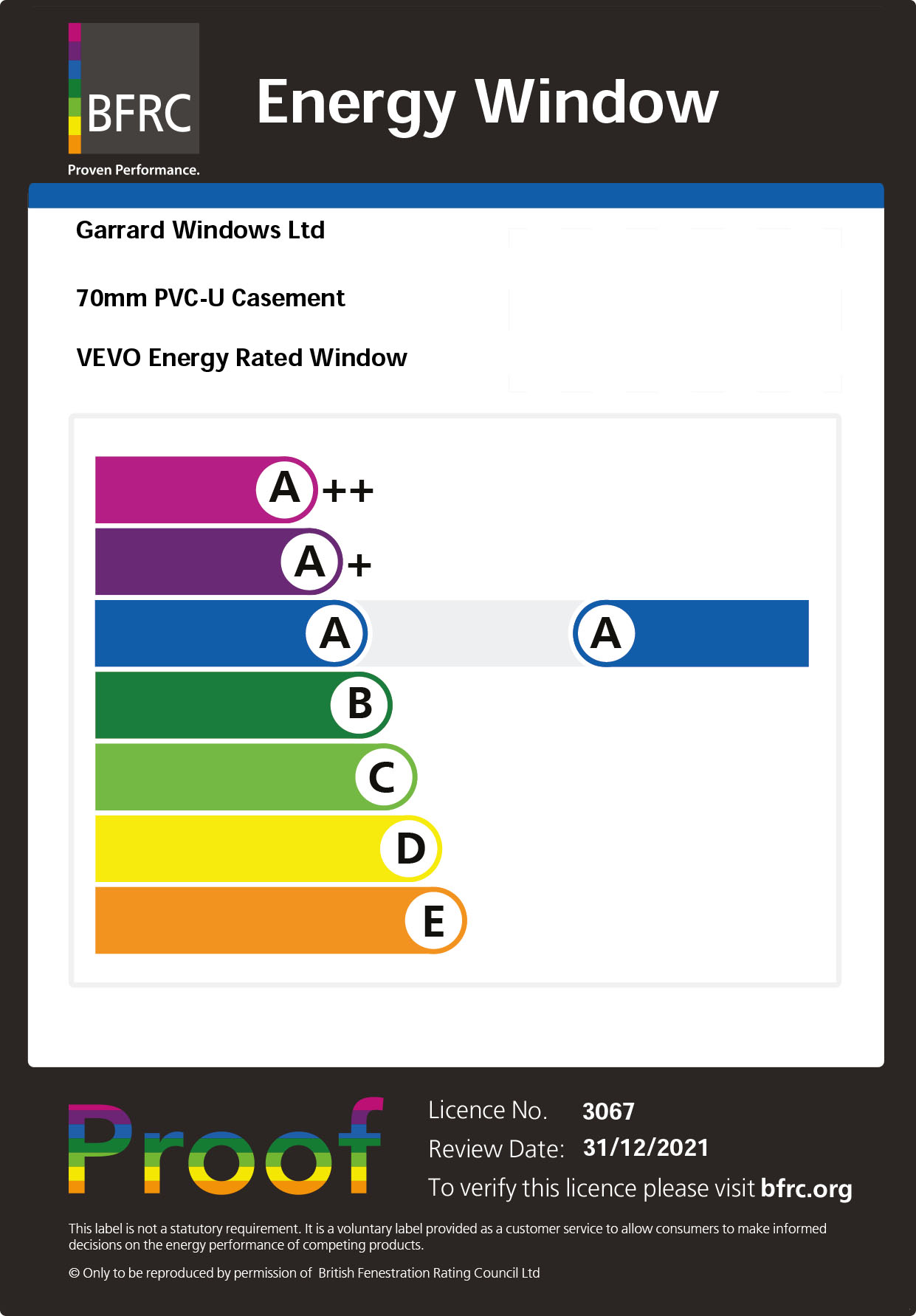 Vevo windows upvc windows conservatory brochure download for Energy windows